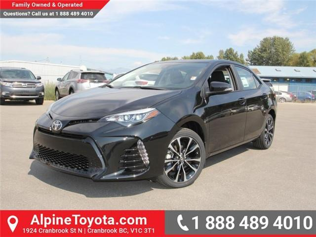 2017 Toyota Corolla SE (Stk: C958675) in Cranbrook - Image 1 of 19