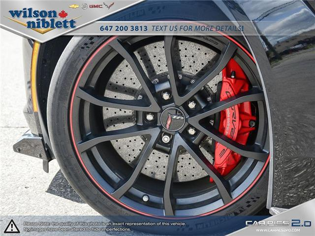 2017 Chevrolet Corvette Grand Sport (Stk: U102911) in Richmond Hill - Image 9 of 30