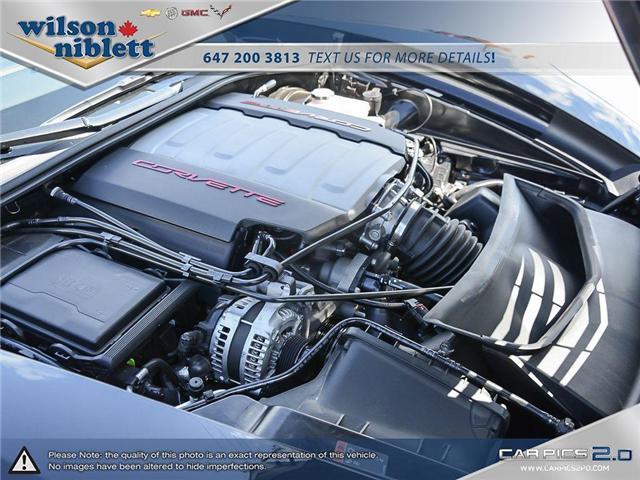 2017 Chevrolet Corvette Grand Sport (Stk: U102911) in Richmond Hill - Image 11 of 30
