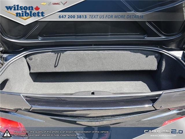 2017 Chevrolet Corvette Grand Sport (Stk: U102911) in Richmond Hill - Image 14 of 30