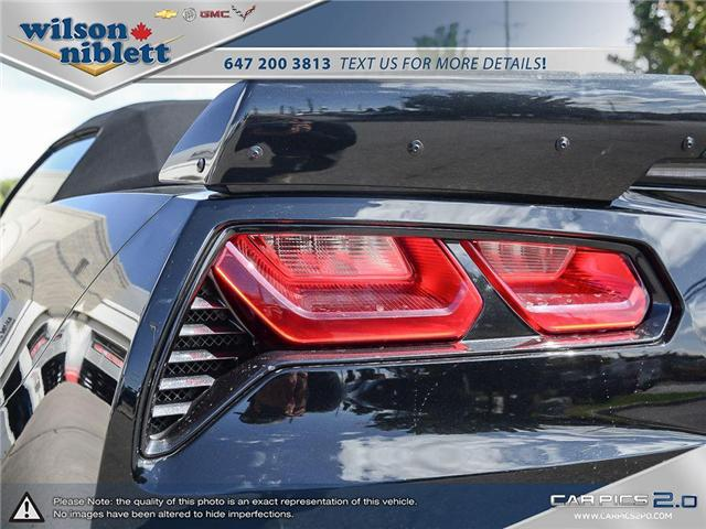 2017 Chevrolet Corvette Grand Sport (Stk: U102911) in Richmond Hill - Image 15 of 30