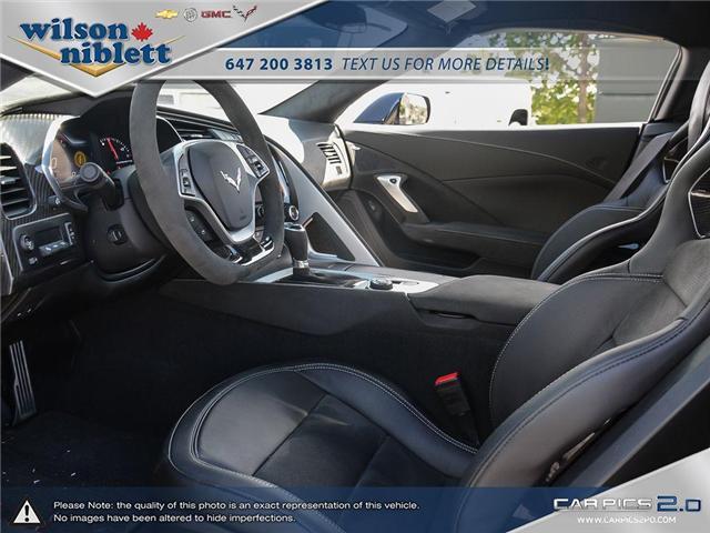 2017 Chevrolet Corvette Grand Sport (Stk: U102911) in Richmond Hill - Image 16 of 30