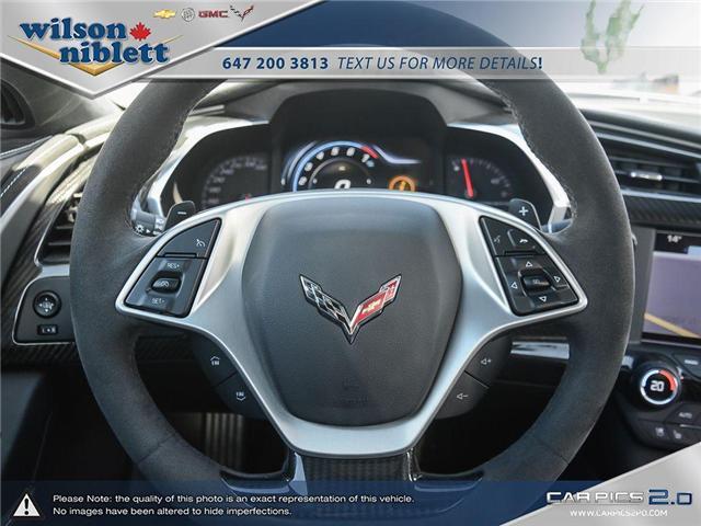 2017 Chevrolet Corvette Grand Sport (Stk: U102911) in Richmond Hill - Image 17 of 30