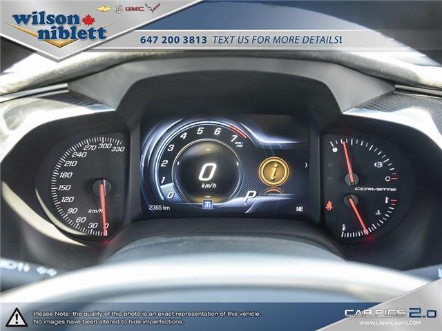 2017 Chevrolet Corvette Grand Sport (Stk: U102911) in Richmond Hill - Image 18 of 30