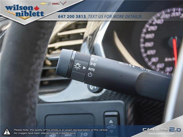 2017 Chevrolet Corvette Grand Sport (Stk: U102911) in Richmond Hill - Image 19 of 30