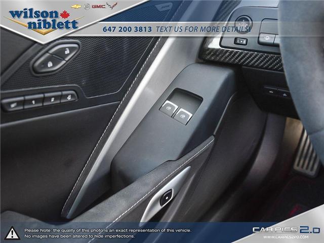 2017 Chevrolet Corvette Grand Sport (Stk: U102911) in Richmond Hill - Image 20 of 30