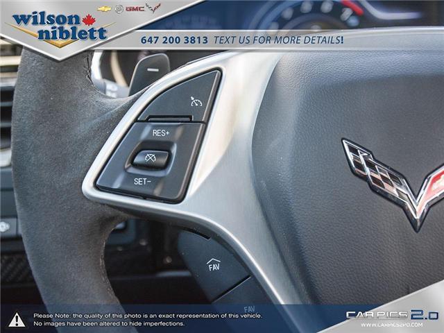 2017 Chevrolet Corvette Grand Sport (Stk: U102911) in Richmond Hill - Image 21 of 30