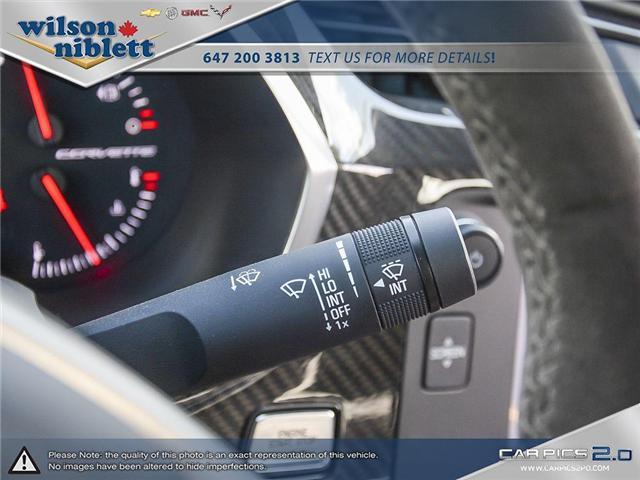 2017 Chevrolet Corvette Grand Sport (Stk: U102911) in Richmond Hill - Image 22 of 30
