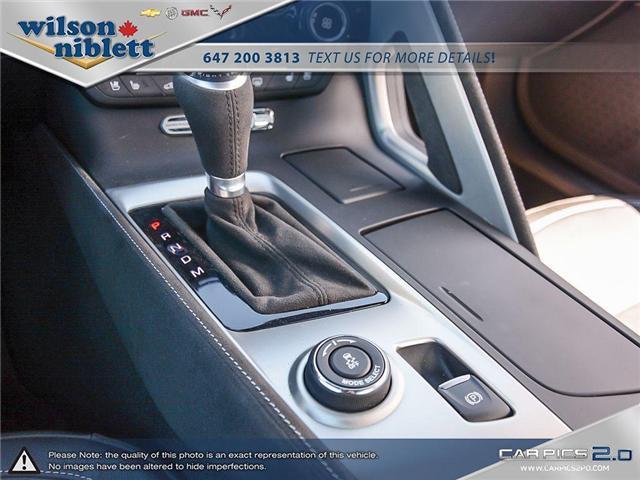 2017 Chevrolet Corvette Grand Sport (Stk: U102911) in Richmond Hill - Image 23 of 30