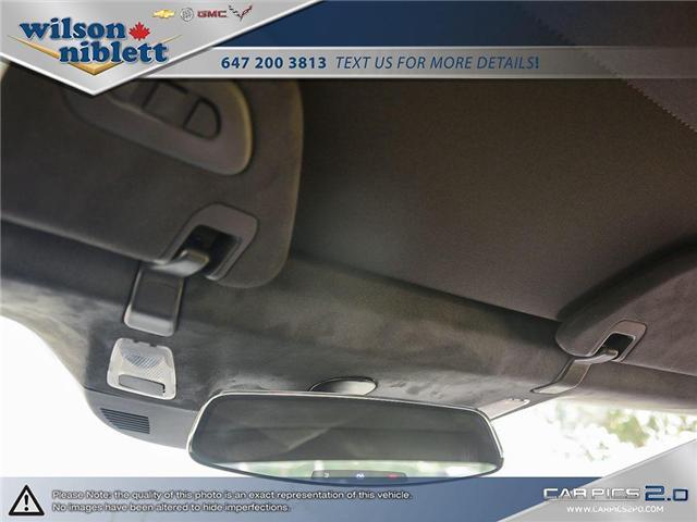 2017 Chevrolet Corvette Grand Sport (Stk: U102911) in Richmond Hill - Image 28 of 30