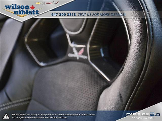 2017 Chevrolet Corvette Grand Sport (Stk: U102911) in Richmond Hill - Image 29 of 30