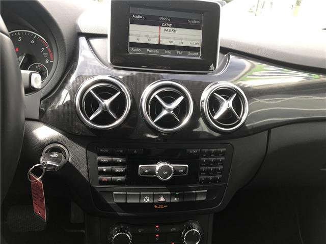 2014 Mercedes-Benz B-Class Sports Tourer (Stk: A956A) in Liverpool - Image 12 of 12