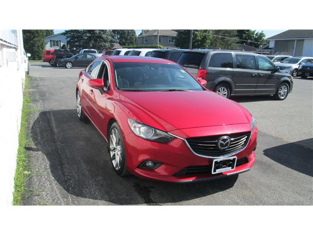 2014 Mazda MAZDA6 GT (Stk: 171156) in Kingston - Image 1 of 13