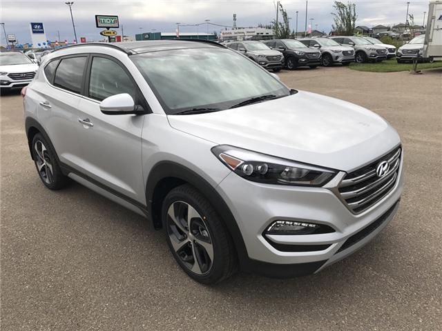 2017 Hyundai Tucson Limited (Stk: 7TU0144) in Lloydminster - Image 1 of 5