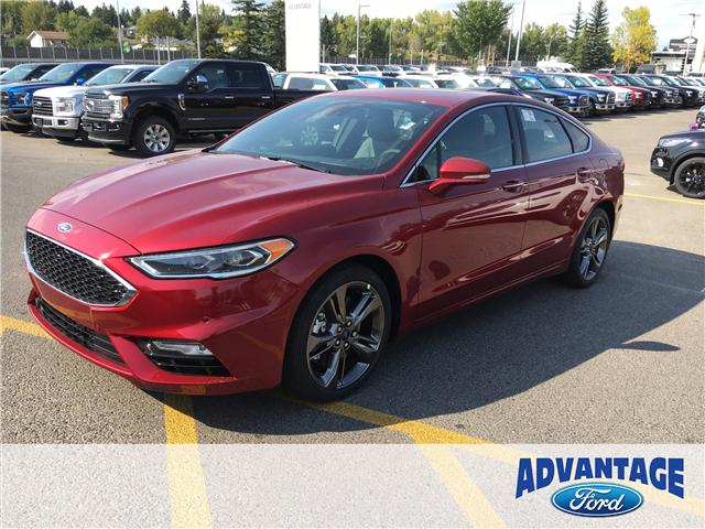2018 Ford Fusion V6 Sport (Stk: J-003) in Calgary - Image 1 of 5