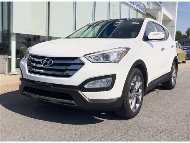 2013 Hyundai Santa Fe Sport 2.0T Limited (Stk: 17400A) in Rockland - Image 1 of 21