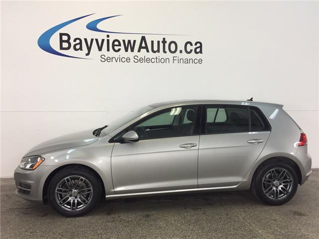 2015 Volkswagen Golf HIGHLINE- TDI! PANOROOF! HTD LTHR! REV CAM! A/C! (Stk: 30858) in Belleville - Image 1 of 26