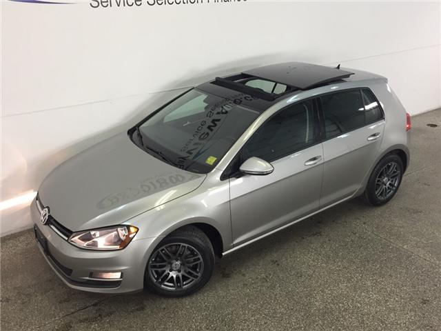 2015 Volkswagen Golf HIGHLINE- TDI! PANOROOF! HTD LTHR! REV CAM! A/C! (Stk: 30858) in Belleville - Image 2 of 26