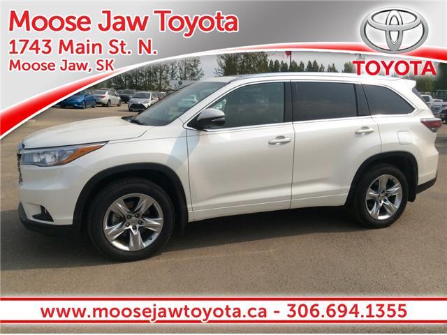 2015 Toyota Highlander Limited (Stk: 1791621) in Moose Jaw - Image 1 of 14