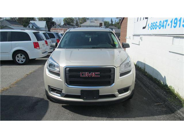 2014 GMC Acadia SLE1 (Stk: 170973) in Kingston - Image 1 of 11