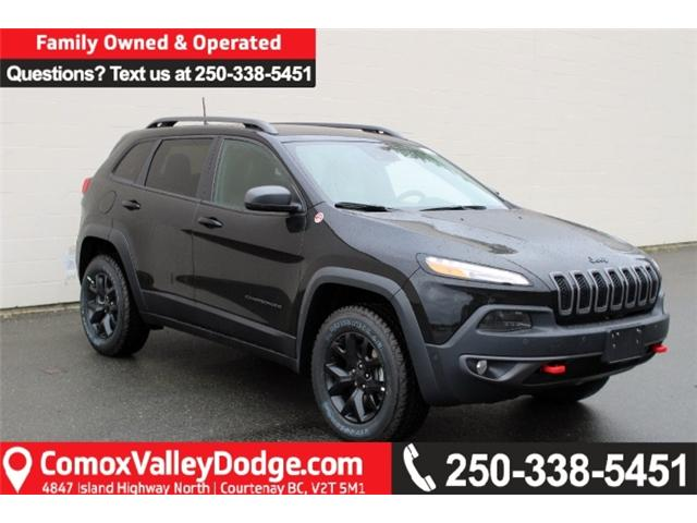 2018 Jeep Cherokee Trailhawk (Stk: D504857) in Courtenay - Image 1 of 29