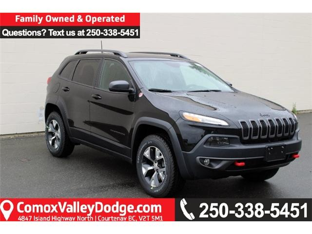 2018 Jeep Cherokee Trailhawk (Stk: D504831) in Courtenay - Image 1 of 30