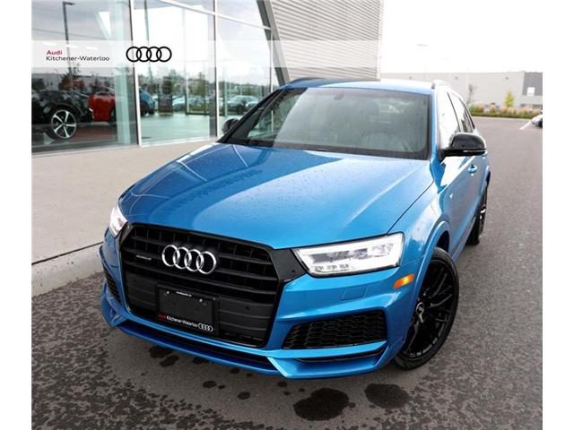 2018 Audi Q3 2.0T Technik (Stk: AQ0999) in Kitchener - Image 1 of 9