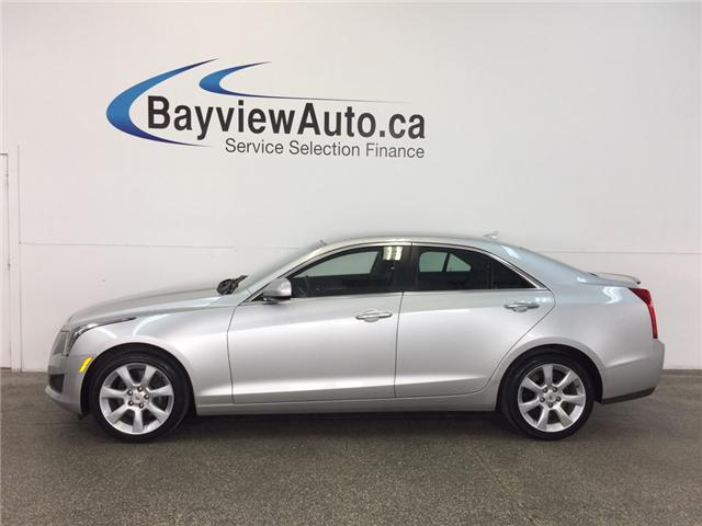 2014 Cadillac ATS - AWD|TURBO|PUSH BTN START|HTD LTHR|BOSE! (Stk: 31151) in Belleville - Image 1 of 26