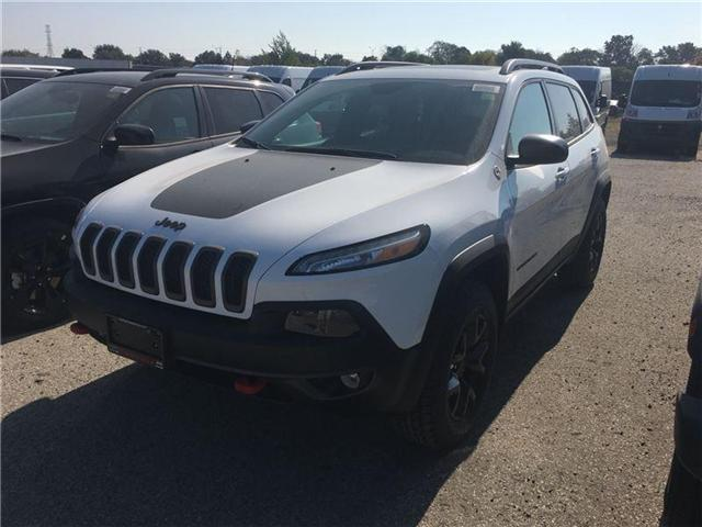 2018 Jeep Cherokee Trailhawk (Stk: JD513811) in Mississauga - Image 1 of 5