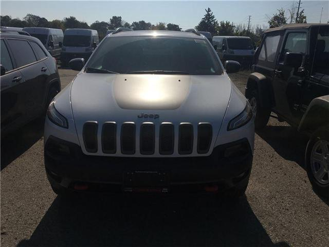 2018 Jeep Cherokee Trailhawk (Stk: JD513811) in Mississauga - Image 2 of 5