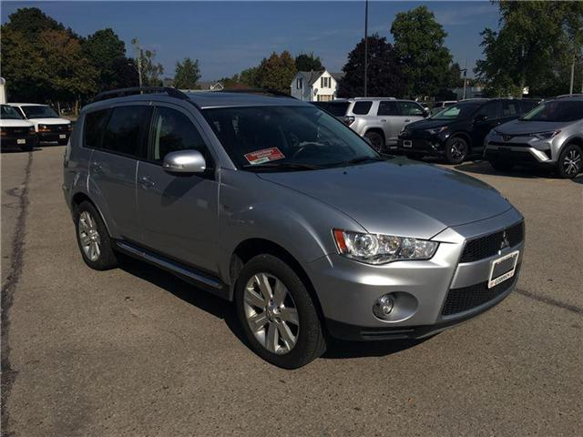 2012 Mitsubishi Outlander XLS (Stk: U24417) in Goderich - Image 1 of 19