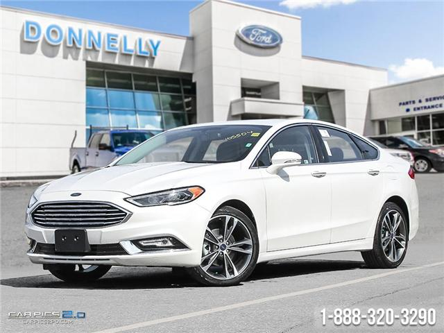 2018 Ford Fusion Titanium (Stk: DR4) in Ottawa - Image 1 of 29