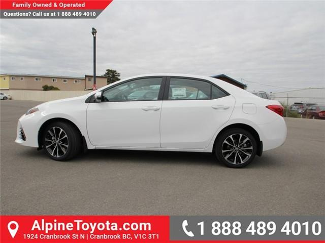 2018 Toyota Corolla SE (Stk: C975837) in Cranbrook - Image 2 of 18