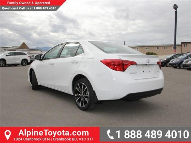 2018 Toyota Corolla SE (Stk: C975837) in Cranbrook - Image 3 of 18