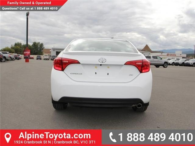 2018 Toyota Corolla SE (Stk: C975837) in Cranbrook - Image 4 of 18