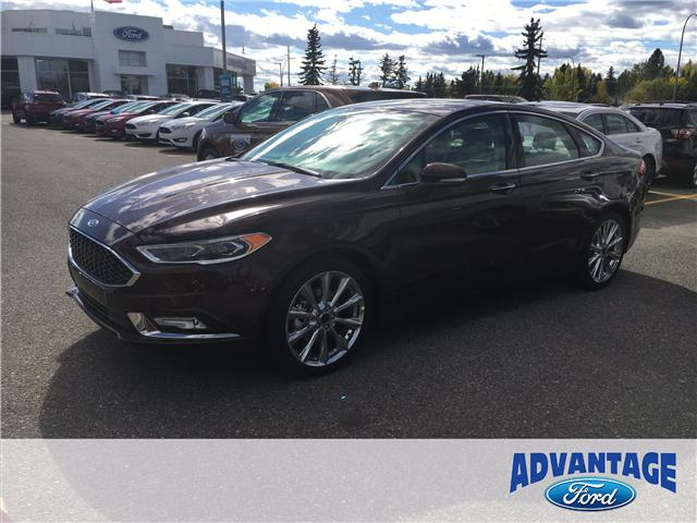 2018 Ford Fusion Platinum (Stk: J-051) in Calgary - Image 1 of 5