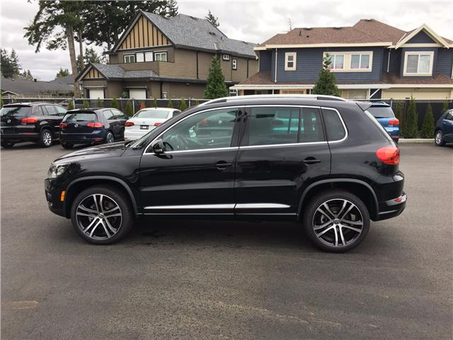2017 Volkswagen Tiguan Highline (Stk: HT038056) in Surrey - Image 5 of 20