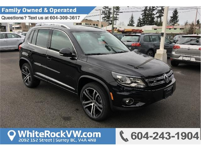 2017 Volkswagen Tiguan Highline (Stk: HT038056) in Surrey - Image 1 of 20
