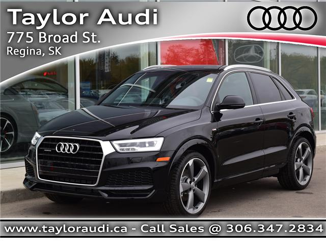 2018 Audi Q3 2.0T Technik (Stk: 180065) in Regina - Image 1 of 37