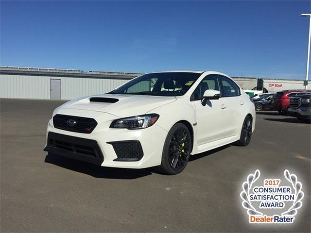 2018 Subaru WRX STI Sport-tech w/Lip (Stk: 185154) in Lethbridge - Image 1 of 17