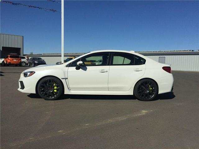 2018 Subaru WRX STI Sport-tech w/Lip (Stk: 185154) in Lethbridge - Image 2 of 17