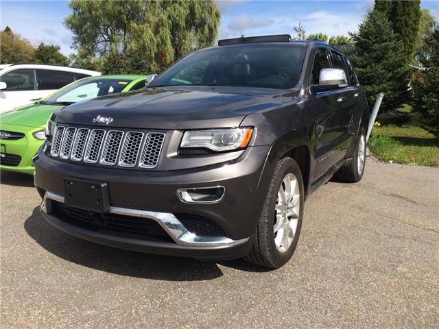 2014 Jeep Grand Cherokee Summit (Stk: P735A) in Rockland - Image 1 of 27