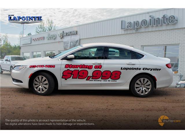 2016 Chrysler 200 LX (Stk: SP16873) in Pembroke - Image 3 of 20