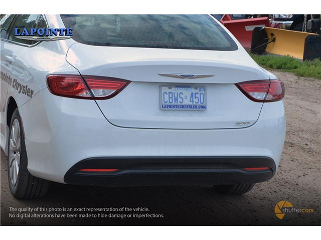 2016 Chrysler 200 LX (Stk: SP16873) in Pembroke - Image 5 of 20