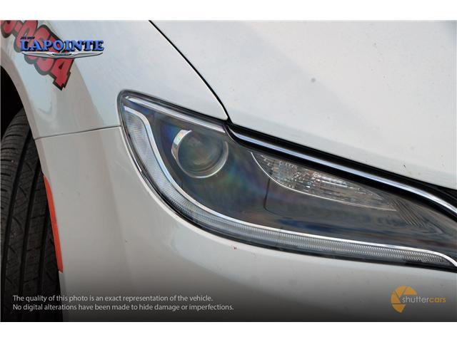 2016 Chrysler 200 LX (Stk: SP16873) in Pembroke - Image 8 of 20