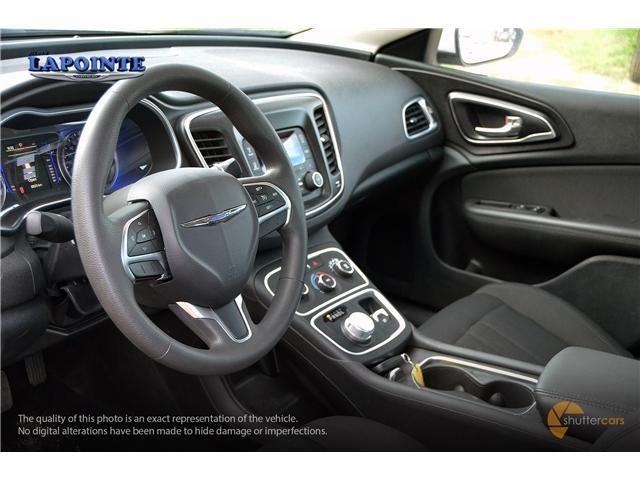 2016 Chrysler 200 LX (Stk: SP16873) in Pembroke - Image 11 of 20