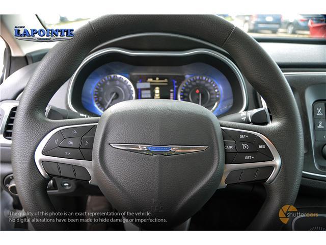 2016 Chrysler 200 LX (Stk: SP16873) in Pembroke - Image 12 of 20