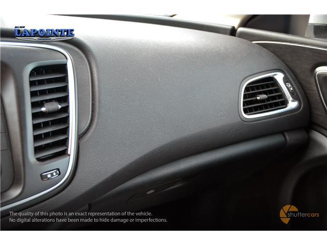 2016 Chrysler 200 LX (Stk: SP16873) in Pembroke - Image 19 of 20