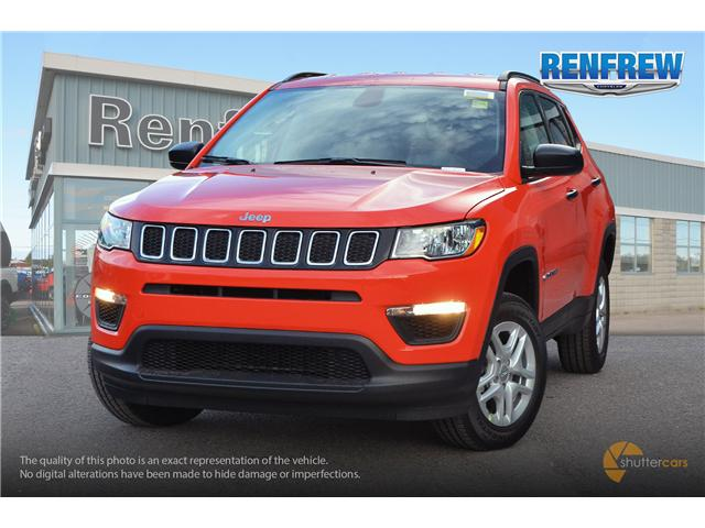 2018 Jeep Compass Sport (Stk: J019) in Renfrew - Image 1 of 20