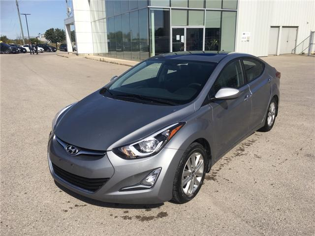 2015 Hyundai Elantra Sport Appearance (Stk: 70307A) in Goderich - Image 1 of 17